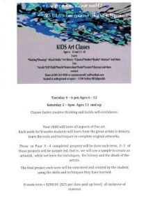 Dawn EXPRESS YOURSELF classes